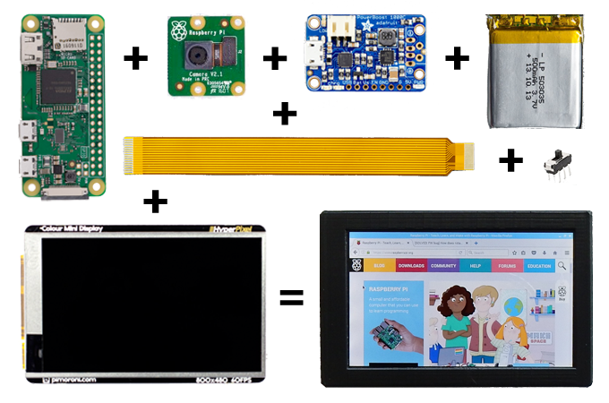 Noodle Pi - The Complete Raspberry-Pi Handheld Computer